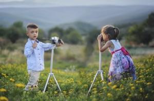 insegnare ai bambini a fotografare