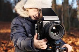 Iniziare i bambini alla fotografia