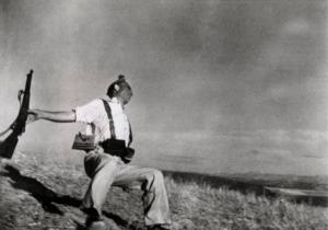 Robert Capa morte di un miliziano
